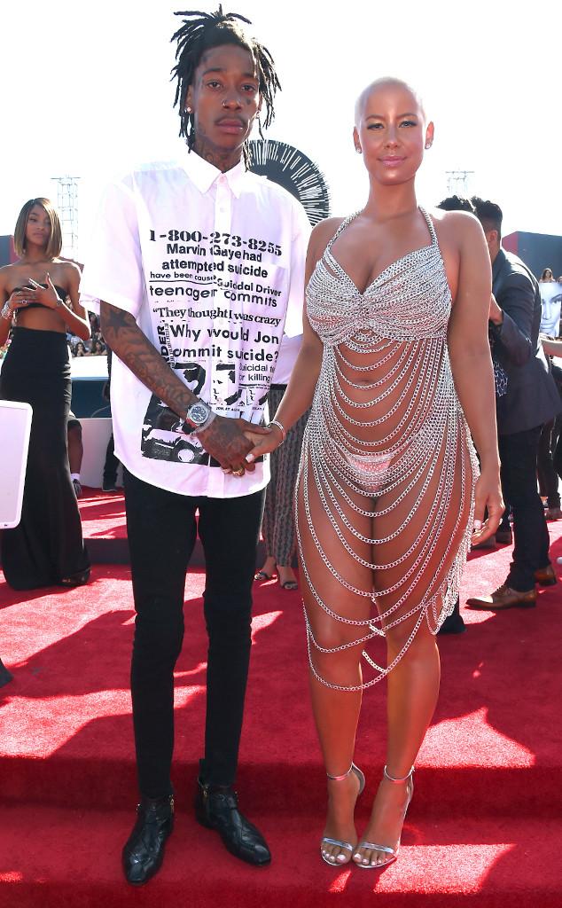 Wiz Khalifa, Amber Rose, MTV VMA's 2014