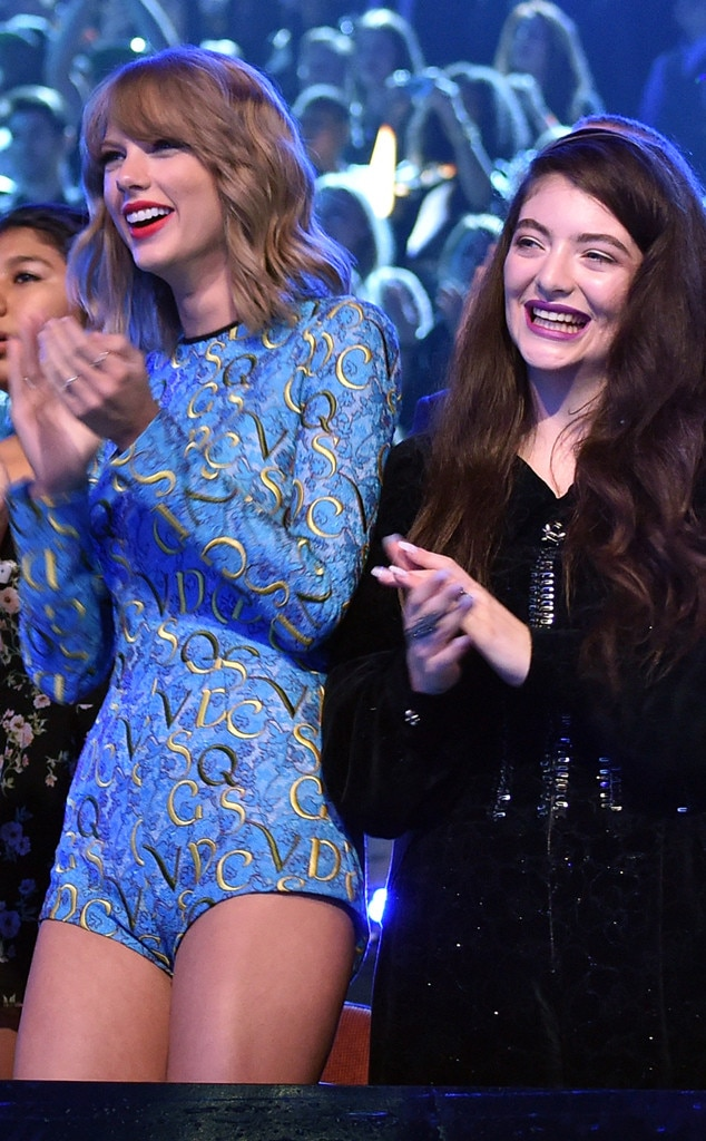 Taylor Swift, Lorde, MTV VMA's 2014