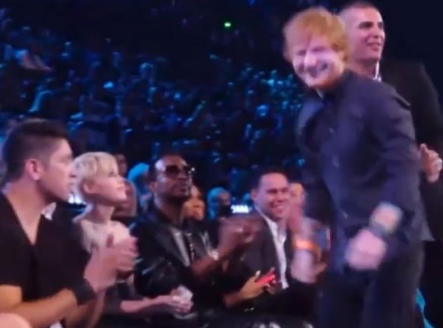 Ed Sheeran, Miley Cyrus, 2014 MTV VMA's