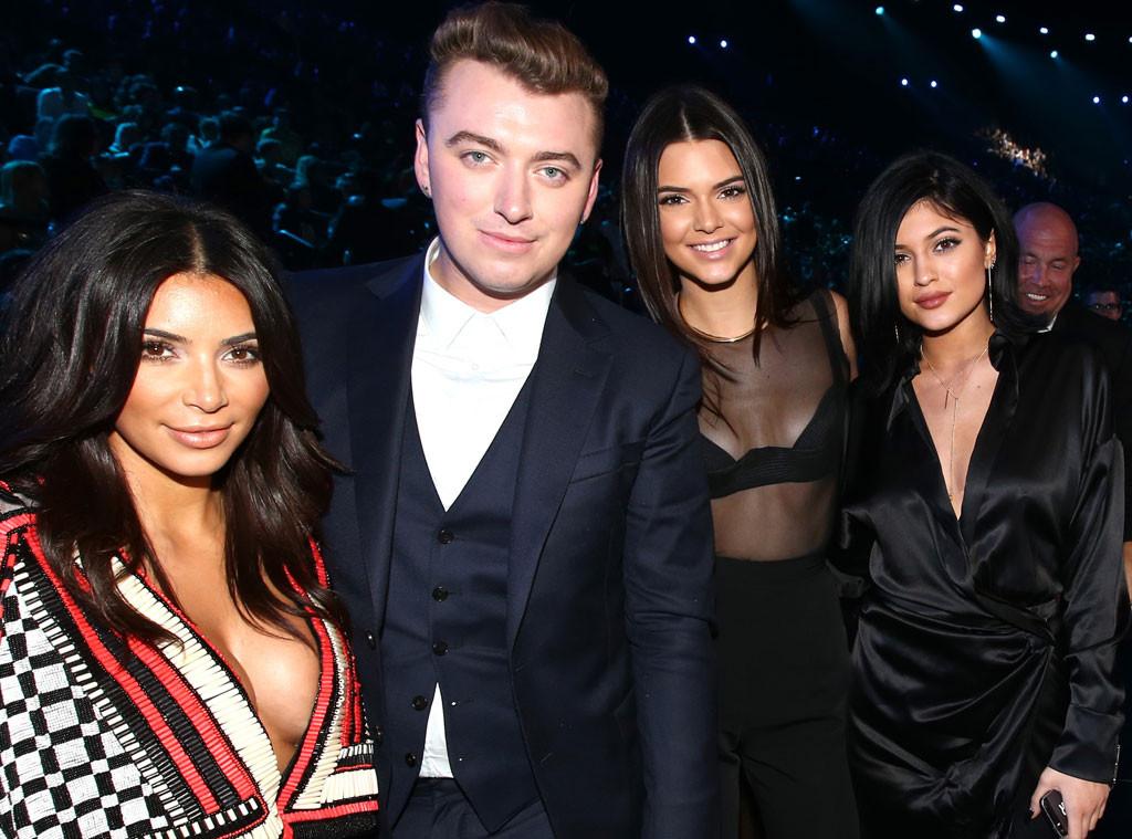 Kim Kardashian, Sam Smith, Kendall Jenner, Kylie Jenner