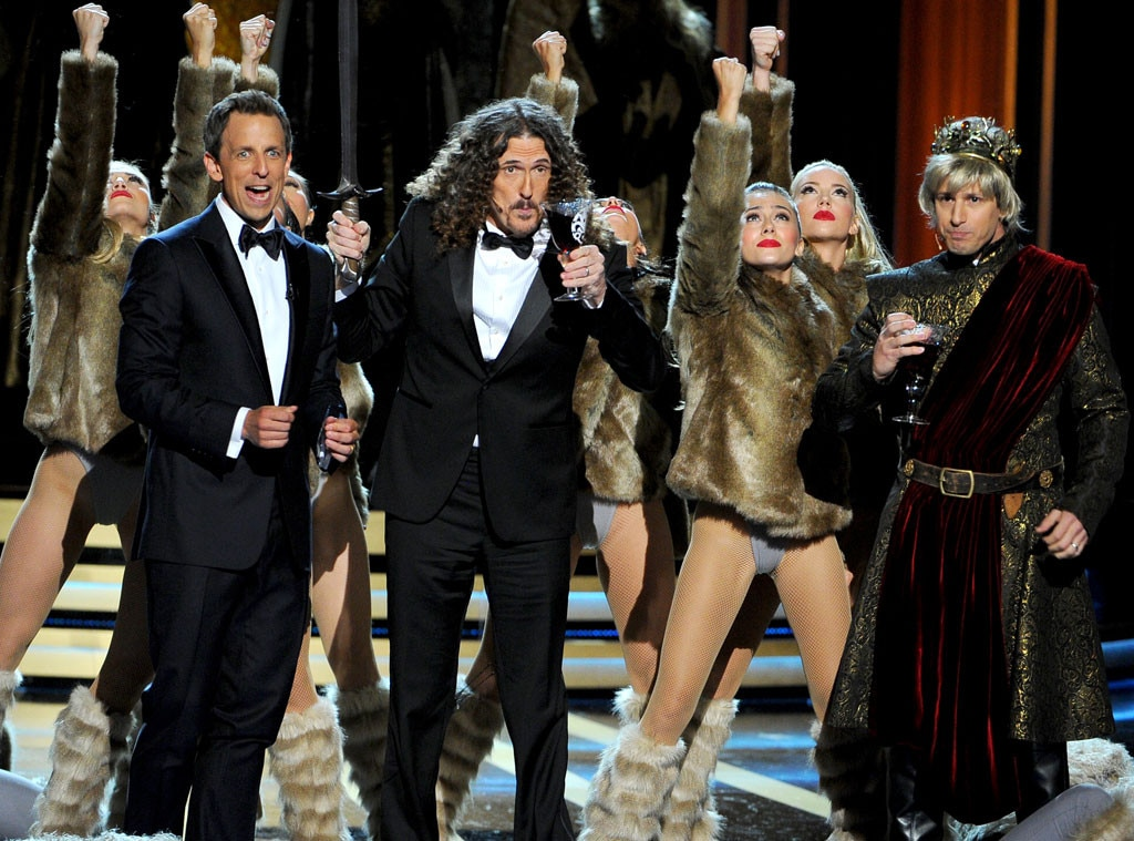 Seth Meyers, Weird Al Yankovic, Andy Samberg, Emmy Awards 2014 Show