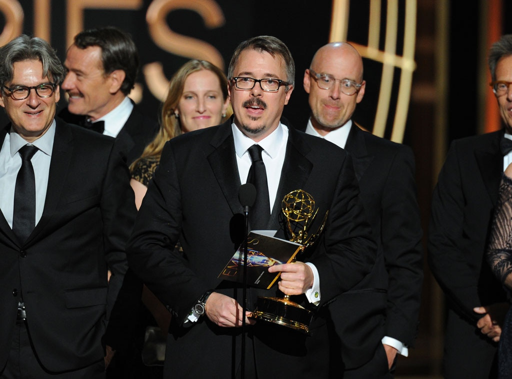 Vince Gilligan, Breaking Bad, Emmy Awards 2014 Show
