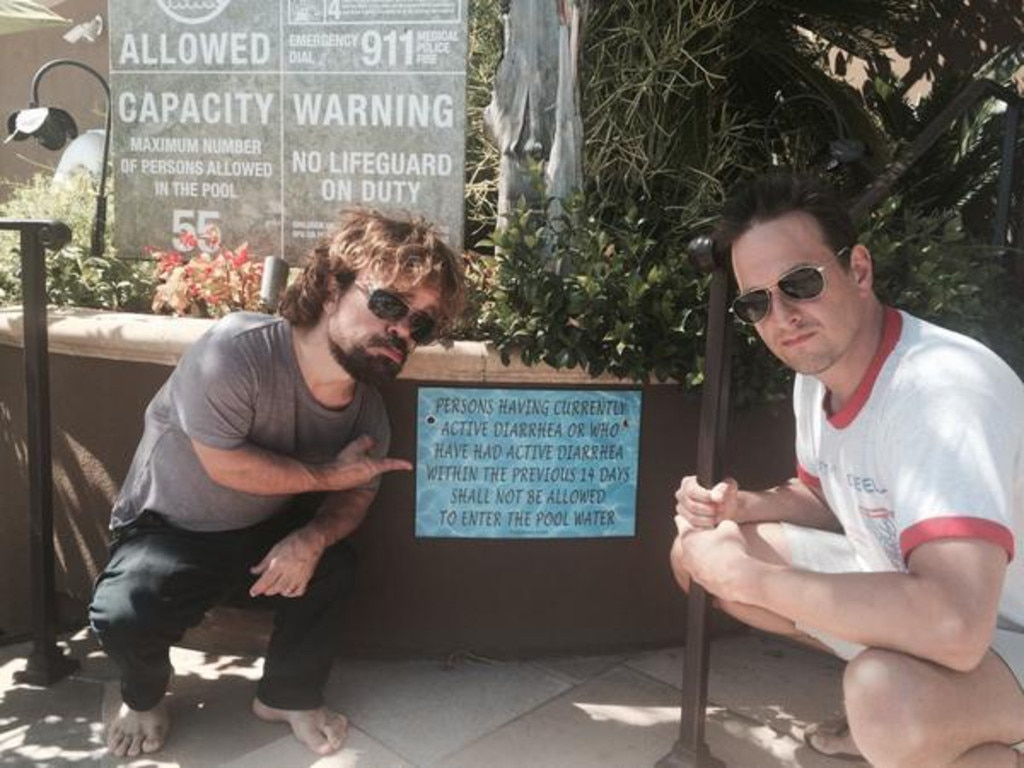 Josh Charles Amp Peter Dinklage From 2014 Emmys Twitpics