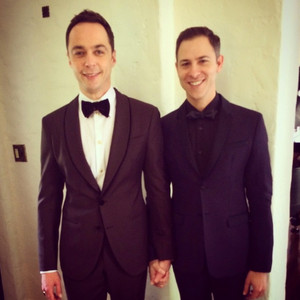 Jim Parsons, Emmy Instagram
