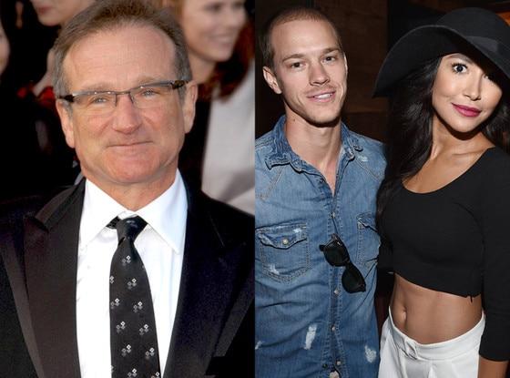 Robin Williams, Naya Rivera, Ryan Dorsey