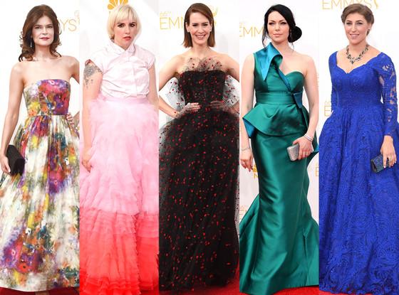 Worst Dressed, Emmy Awards