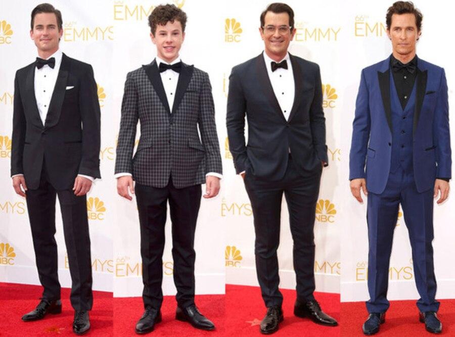 Emmy Awards Best of Menswear