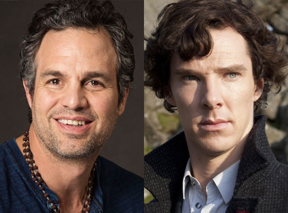 Benedict Cumberbatch, Sherlock, Mark Ruffalo, Normal Heart