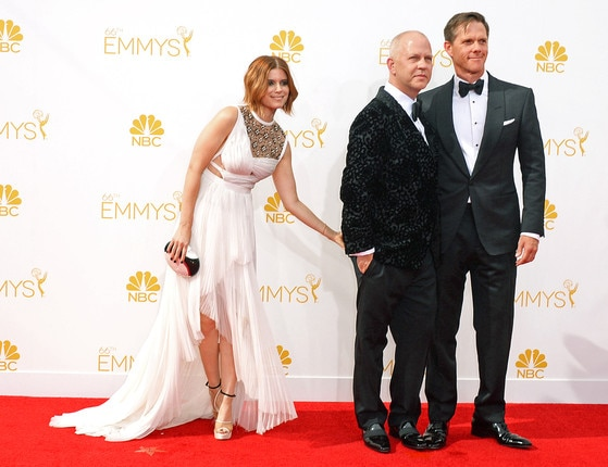 Kate Mara, Ryan Murphy, David Miller, Emmy, Candids