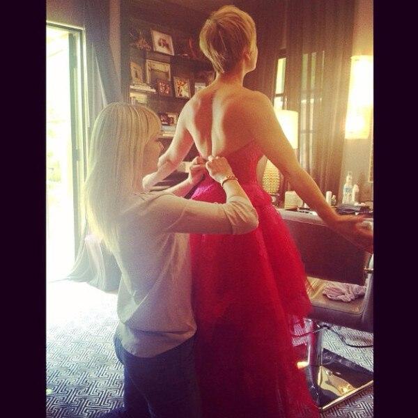Kaley Cuoco-Sweeting, Emmy Instagram