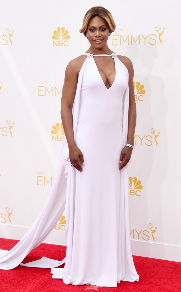 Laverne Cox, Emmy Awards 2014