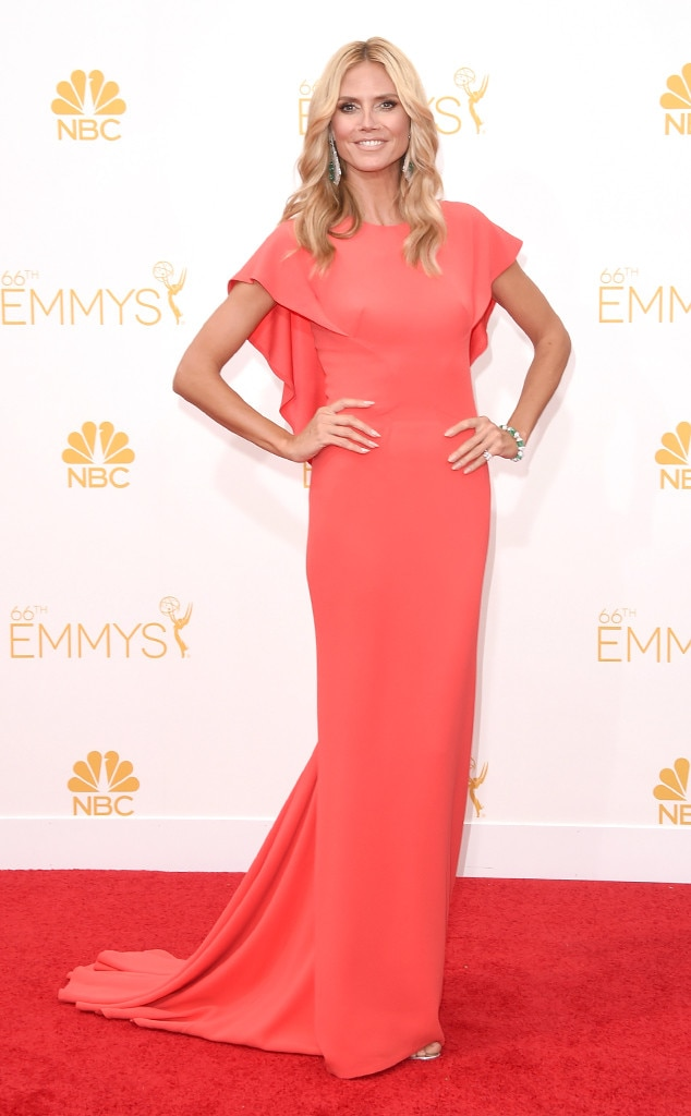 Heidi Klum, Emmy Awards 2014