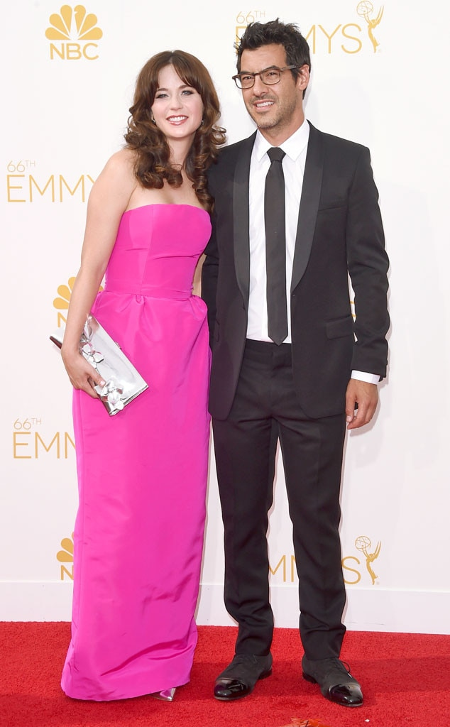 Zooey Deschanel, Jacob Pechenik, Emmy Awards 2014