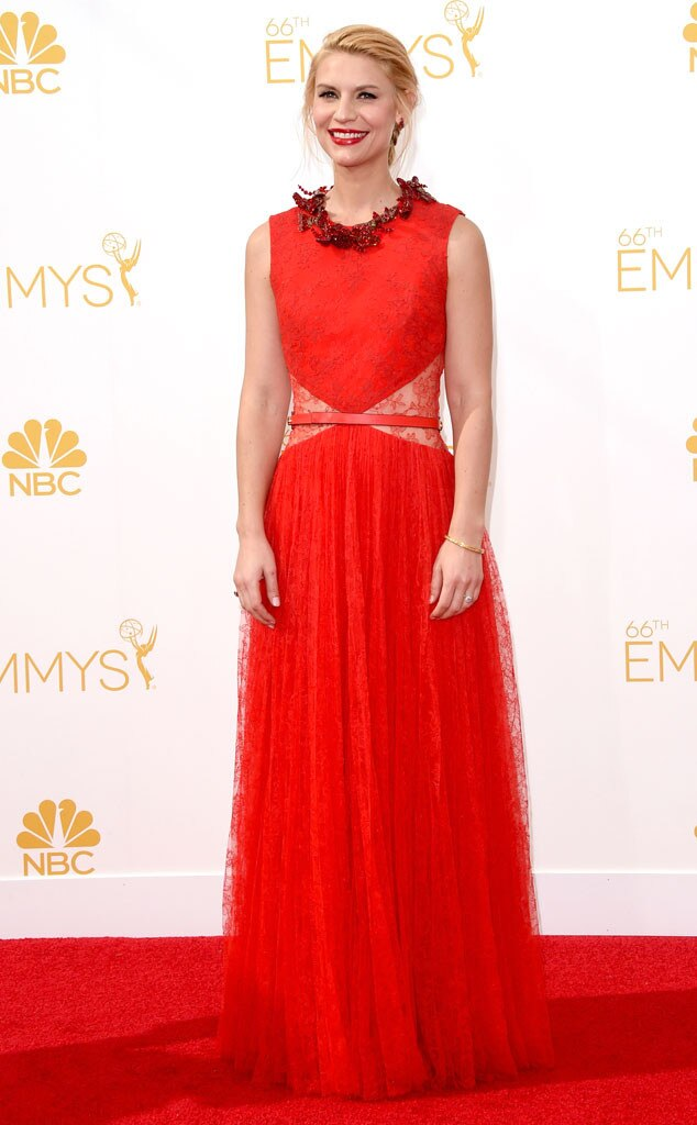 Claire Danes, Emmy Awards 2014