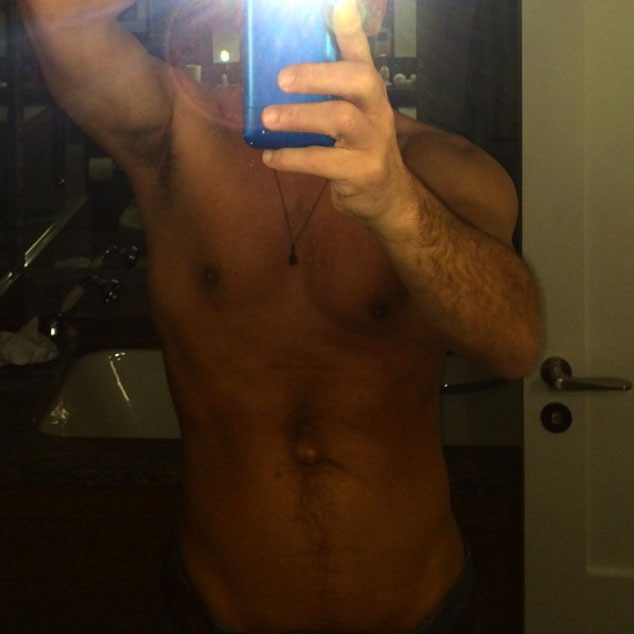 John Stamos, Shirtless, Instagram