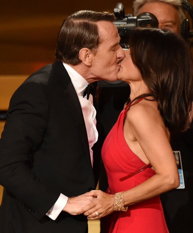 Julia Louis-Dreyfus, Bryan Cranston, Emmy Awards 2014 Show