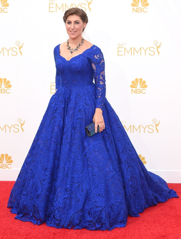 Mayim Bialik, Emmy Awards 2014