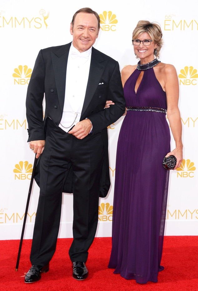 Kevin Spacey, Ashleigh Banfield, Emmy Awards 2014
