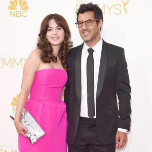 Zooey Deschanel, Jacob Pechenik, Emmy Awards 2014