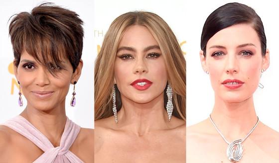 Halle Berry, Sofia Vergara, Jessica Pare, Emmy Awards 2014, Jewelry