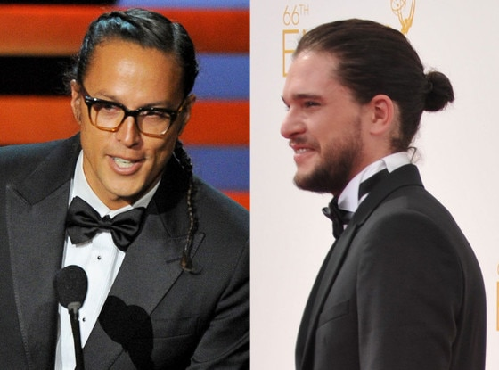 Cary Joji Fukunaga, Kit Harington, Emmy Awards 2014 Show