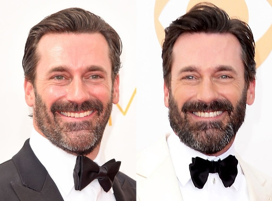 Jon Hamm, Beard, Emmy Awards, 2014, 2013
