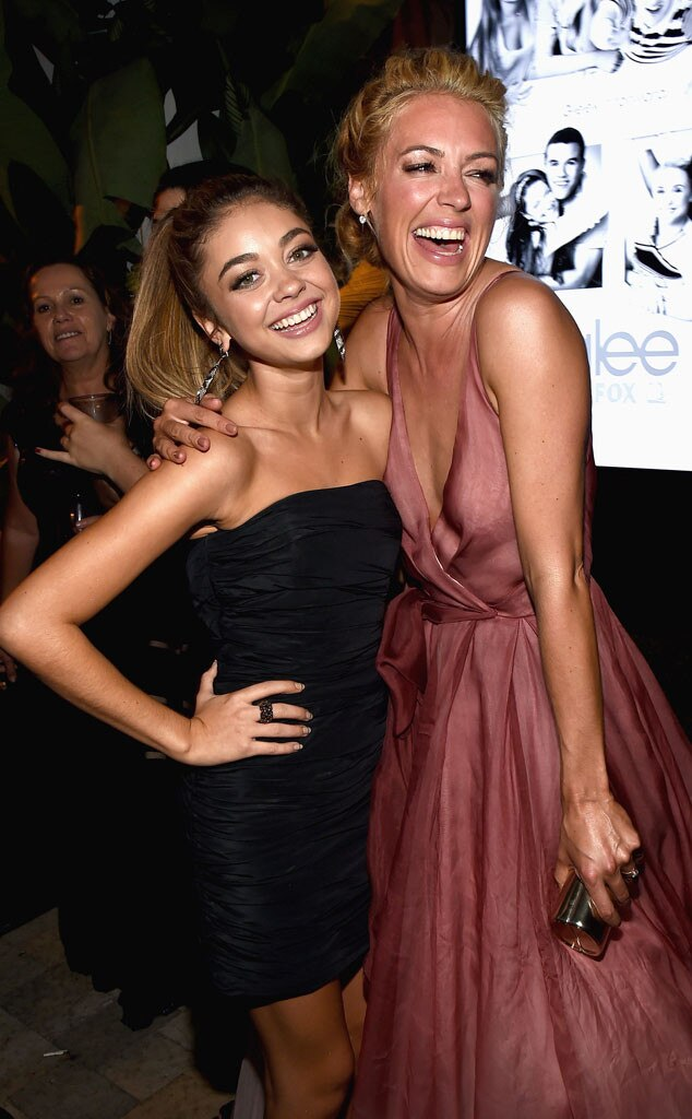 Sarah Hyland, Cat Deeley, 2014 Emmy's, Party Pics