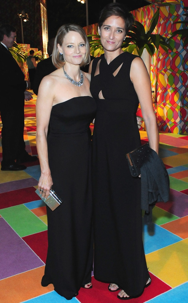 Jodie Foster and Wife Alexandra Hedison Attend the 2014 ...