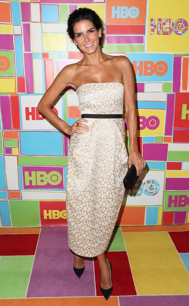 Angie Harmon, Emmy Awards, After Party Dresses
