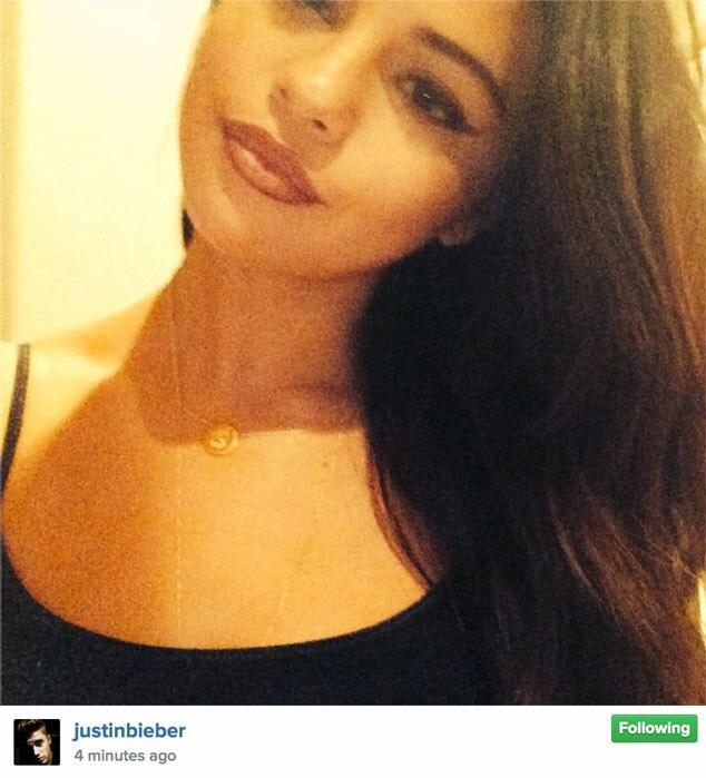 Justin Bieber, Selena Gomez, Instagram