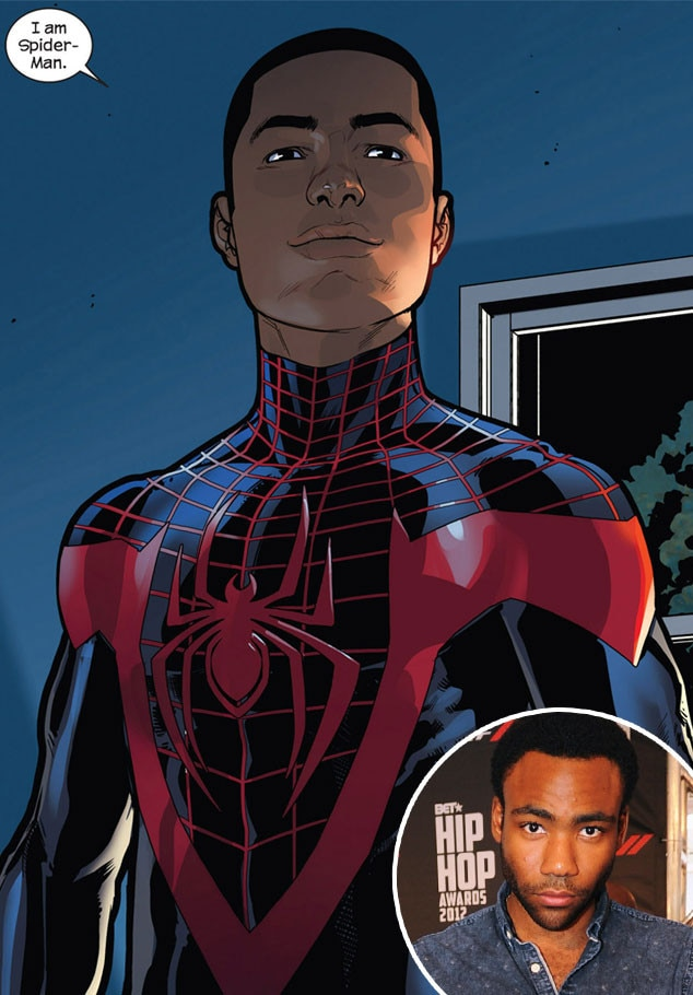 Donald Glover Is Playing Spider-Man...in a Cartoon, but It ...