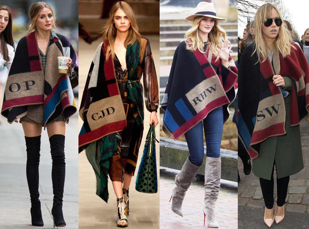 Olivia Palermo, Cara Delevingne, Rosie Huntington-Whiteley, Suki Waterhouse