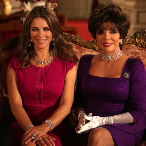 Alexandra Park, Elizabeth Hurley, Joan Collins, The Royals
