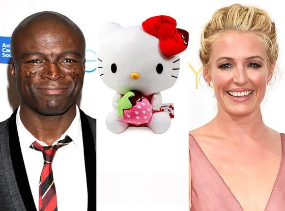 Cat Deeley, Hello Kitty, Seal