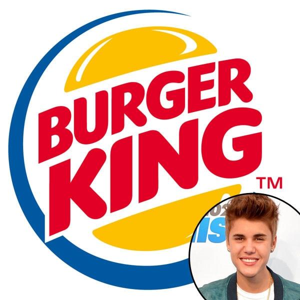 Burger King, Justin Bieber