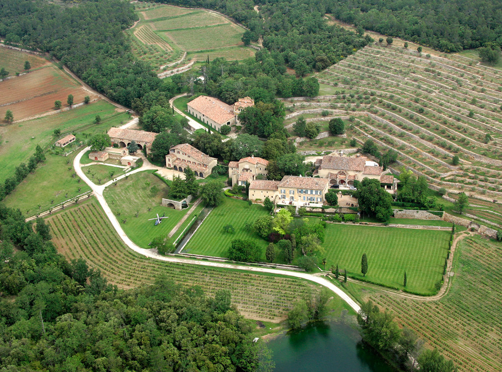 Brad Pitt, Angelina Jolie, Chateau Miraval