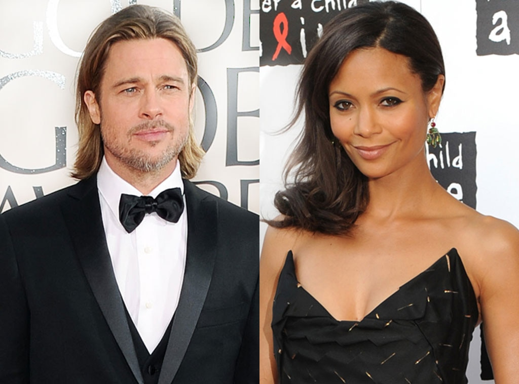 Thandie Newton from Brad Pitt & Angelina Jolie's Famous ...