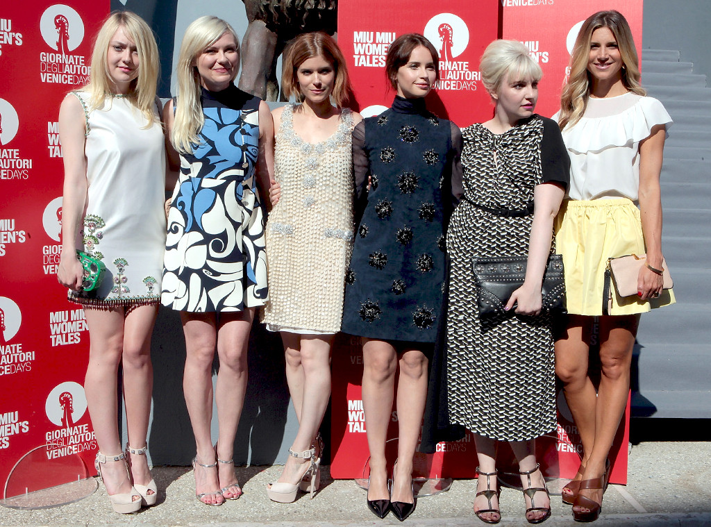 Dakota Fanning, Kirsten Dunst, Lena Dunham, Nicoletta Romanoff, Kate Mara, Venice Film Festival