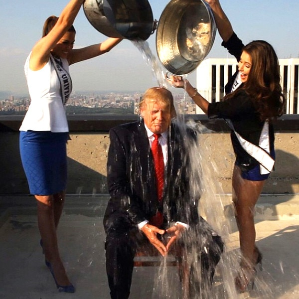 Donald Trump, ALS Ice Bucket Challenge
