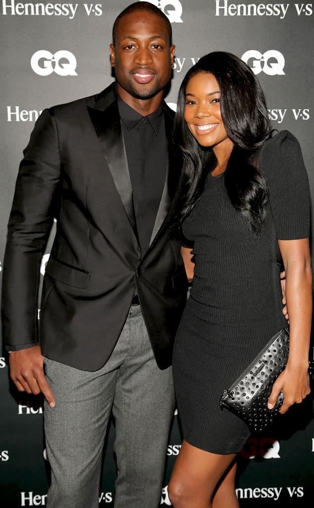 Enjoyable Dwyane Wade And Gabrielle Union Are Married E News Short Hairstyles Gunalazisus