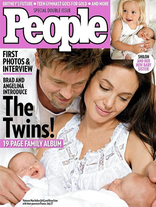 Angelina Jolie, Brad Pitt, Vivienne, Knox