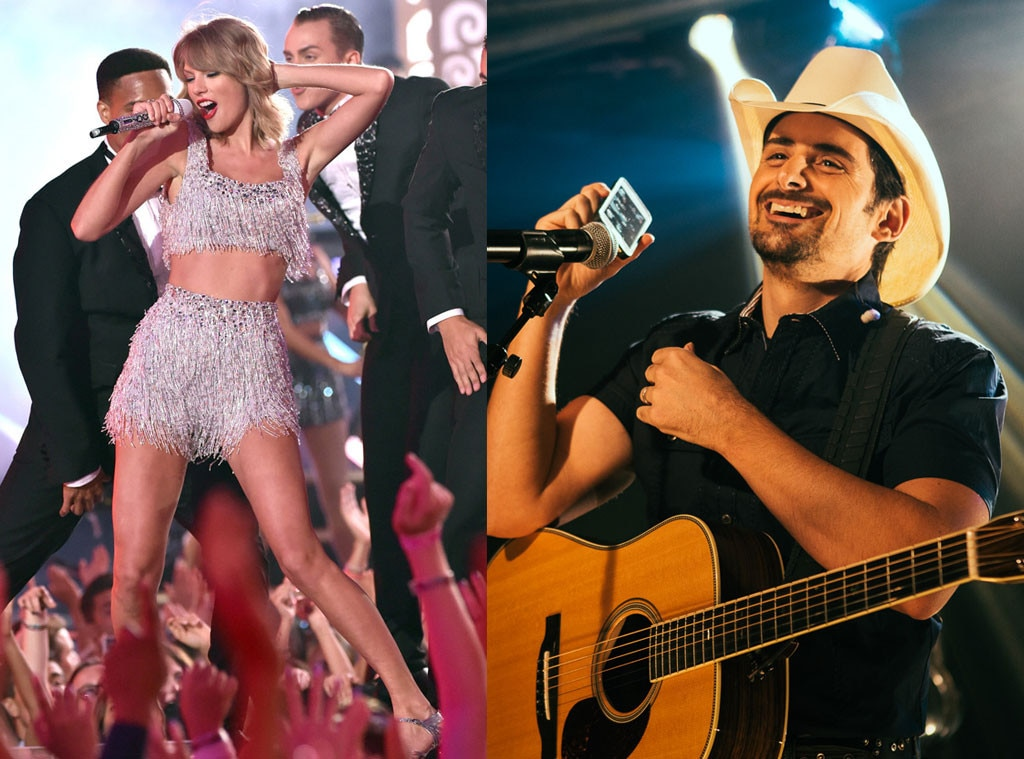 Taylor Swift, Brad Paisley