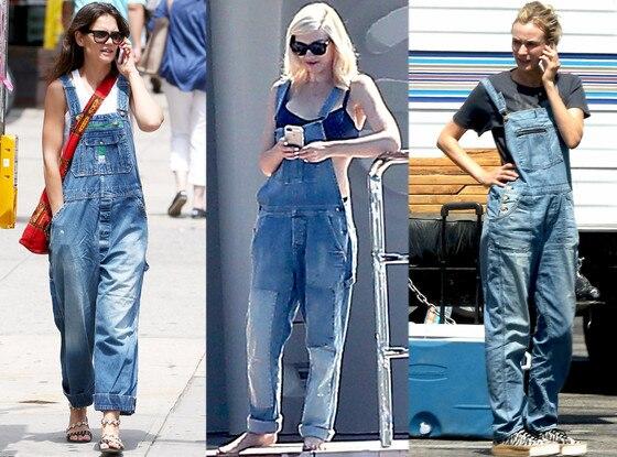 Katie Holmes, Diane Kruger, Gwen Stefani, Overalls