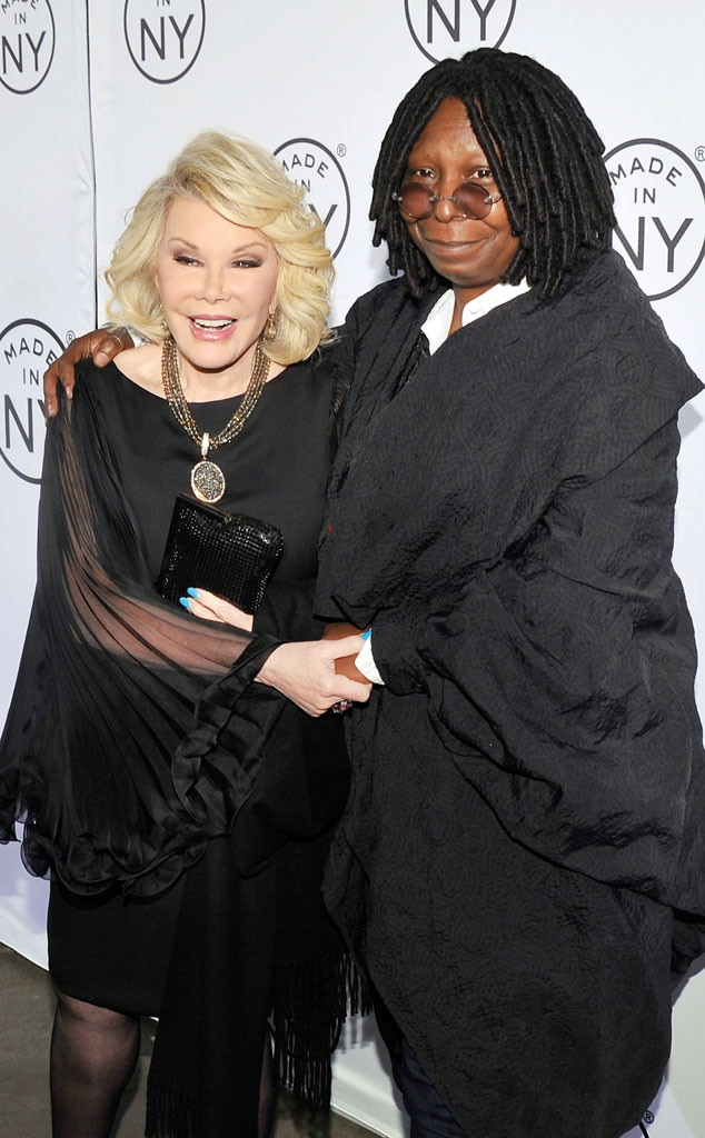 Joan Rivers, Whoopi Goldberg, Famous Friends