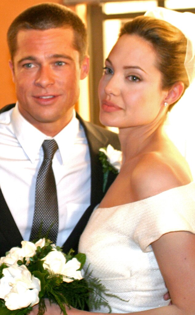See Photos of Angelina Jolie and Brad Pitt on Their ... Angelina Jolie Brad Pitt