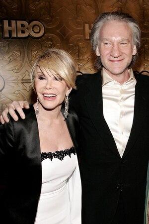 Joan Rivers, Bill Maher, Famous Friends