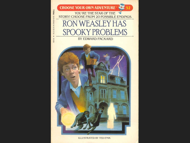 Ron Weasley Has Spooky Problems From Revised Book Covers