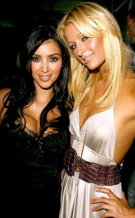 Kim Kardashian, Paris Hilton