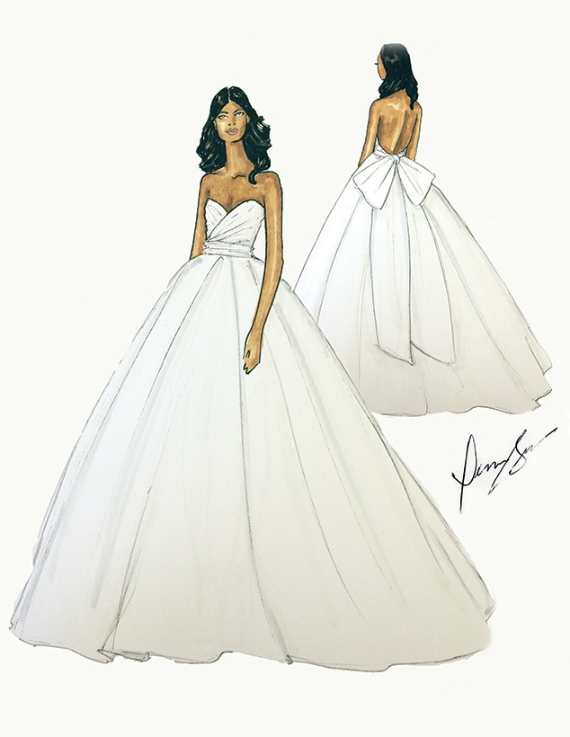 Gabrielle Union, Wedding Dress