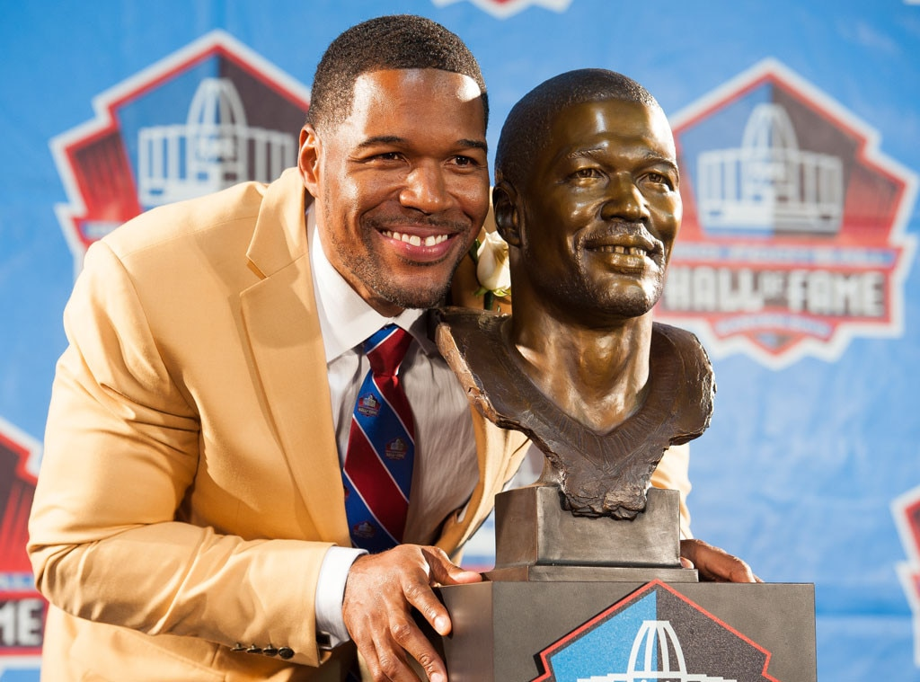 Michael Strahan, 2014 Pro Football Hall of Fame